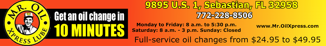 Mr. Oil Express Lube - Vero Beach Blog/Newsletter
