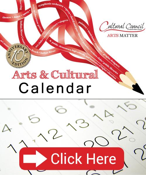 Cultural counsil calendar - Vero Beach