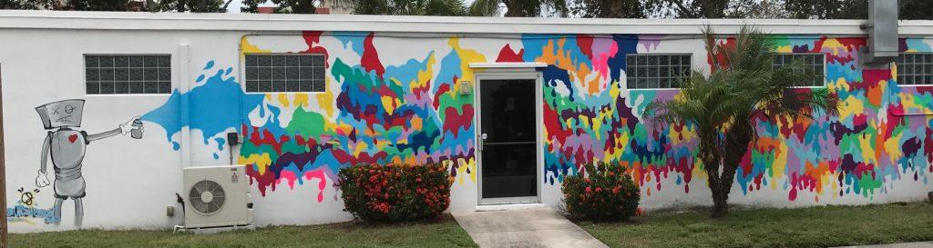 Bright colors in Vero Beach, Florida | Lemmon Lines Blog /  Newsletter in Vero Beach.
