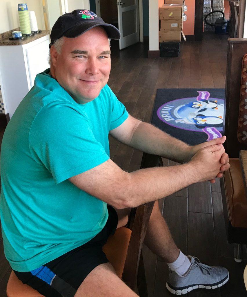 Joey Bishop, owner of Brain Freeze | Lemmon Lines, Vero Beach Blog / Newsletter