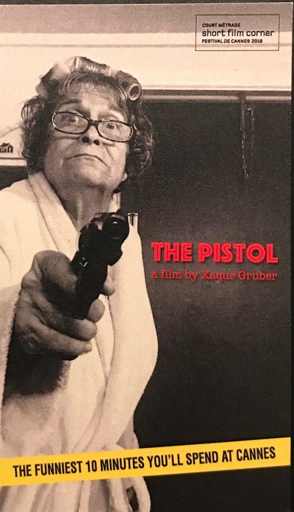 The Pistol - by Xaque Gruber | Lemmon Lines Blog /  Newsletter, Vero Beach, FL