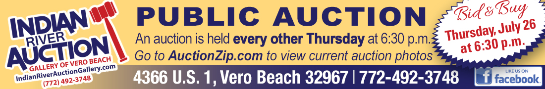 Indian River Auction WEB June28 - Vero Beach Newsletter
