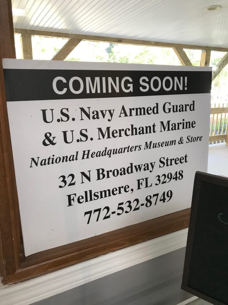 US Navy Armed Guard & Merchant Marine Museum and Store, Fellsmere, FL
